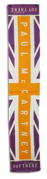 "Paul McCartney - Flag -Out There Tour - Arena Sports  8"" x 44"" Towel"