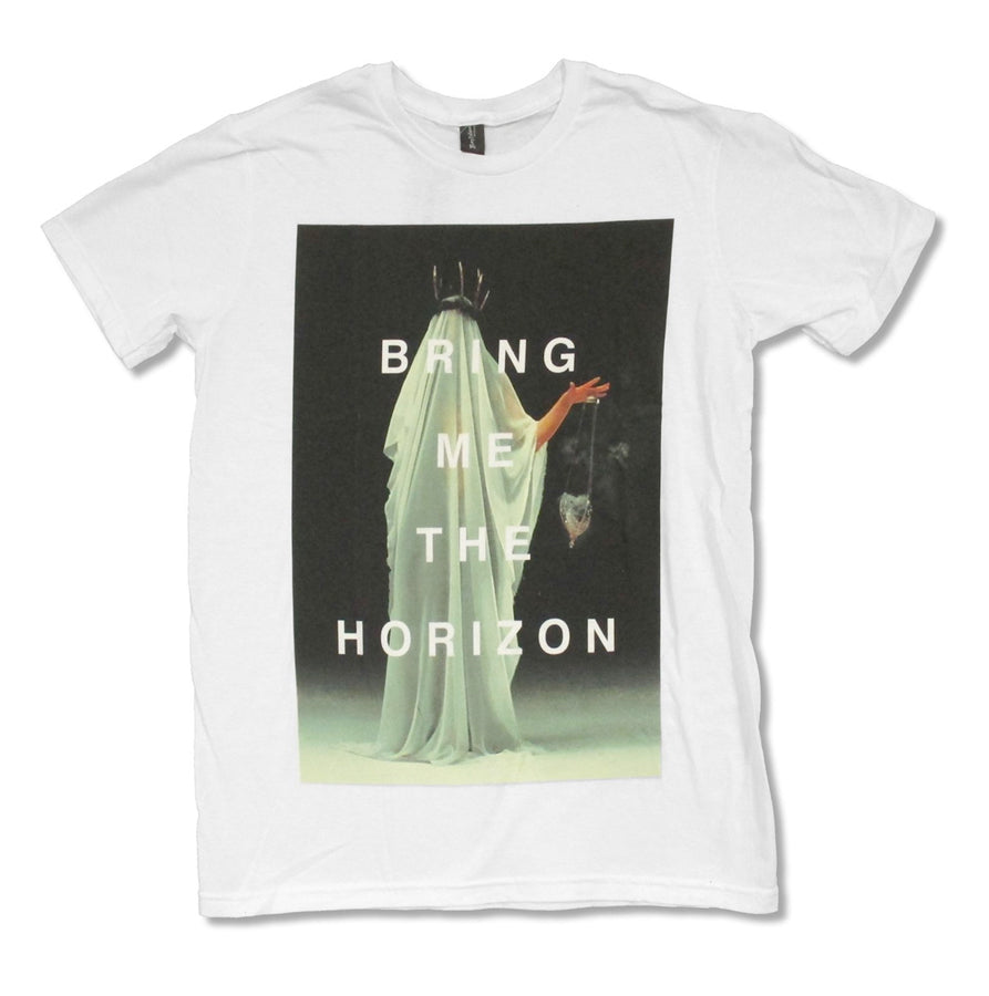 Bring Me The Horizon - Cloaked - White t-shirt