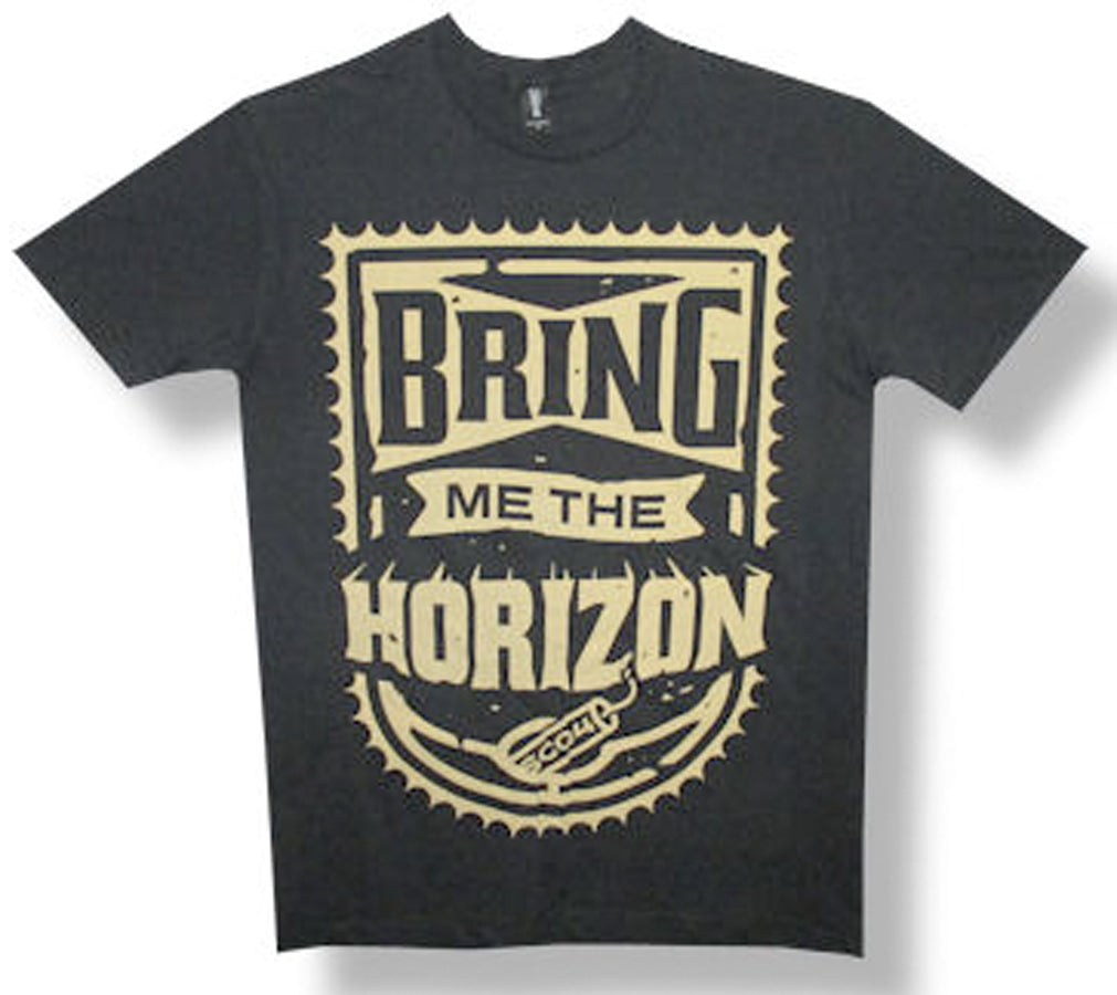 Bring Me The Horizon Dynamite Logo - Black t-shirt