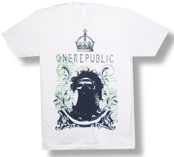 One Republic Gas Mask T-shirt