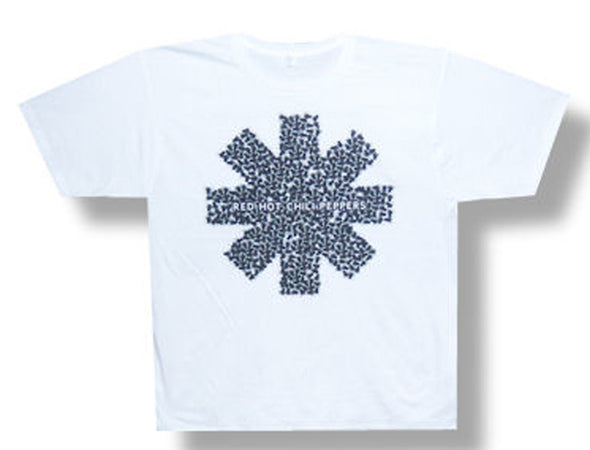 Red Hot Chili Peppers - Fly Asterisk - White t-shirt
