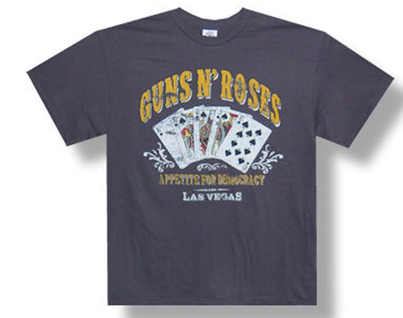 Guns N Roses - Full House 2012 Tour - Gray t-shirt