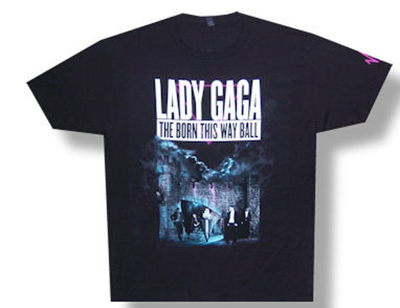 Lady Gaga Born This Way 2013 Tour T-shirt
