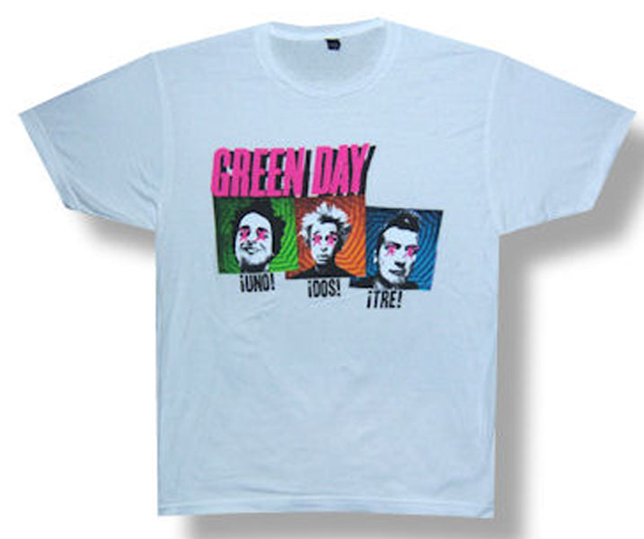 Green Day - Connect - White  t-shirt