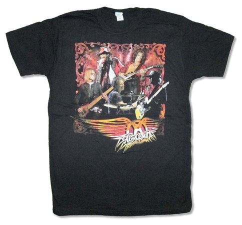 Aerosmith - Live Image - Black T-shirt