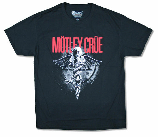 Motley Crue - Dr Feelgood - Black t-shirt