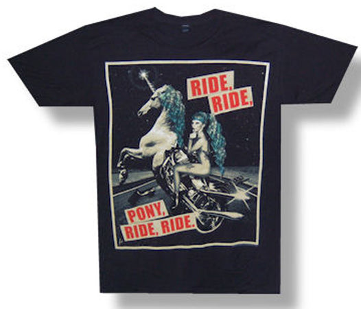Lady Gaga Pony Ride 2013 Tour Lightweight T-shirt