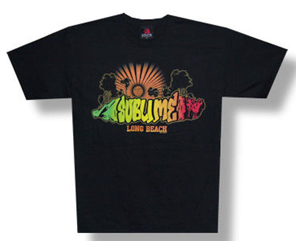 Sublime-Rays-Black t-shirt