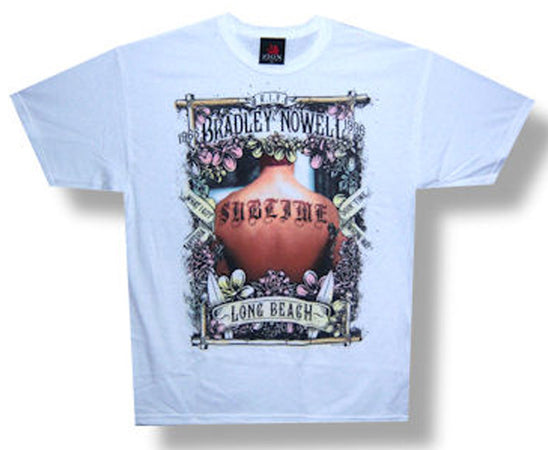Sublime-Tribute-White t-shirt
