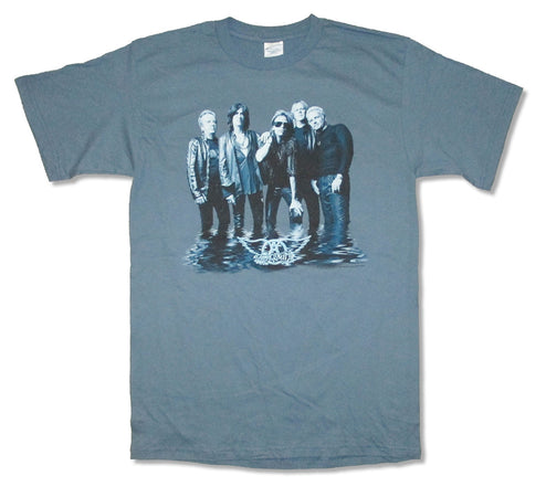Aerosmith - Reflection - Slate Blue T-shirt