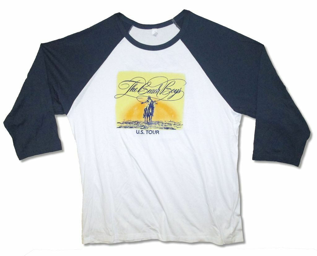 The Beach Boys - Indian 2014 Tour - Raglan Baseball Jersey t-shirt