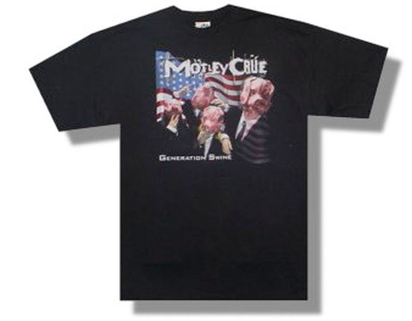 Motley Crue-Generation Swine-Black t-shirt