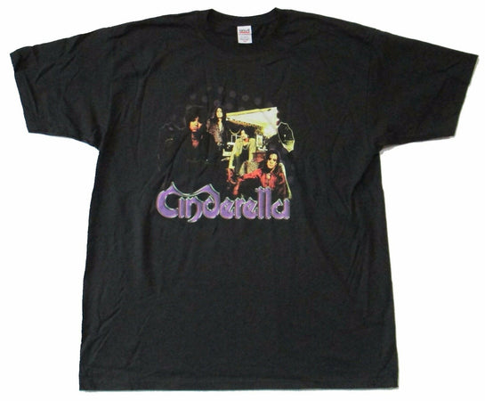 Cinderella-Group-North American Tour - Black T-shirt