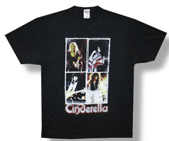 Cinderella-25 Years of Rock and Roll- t-shirt