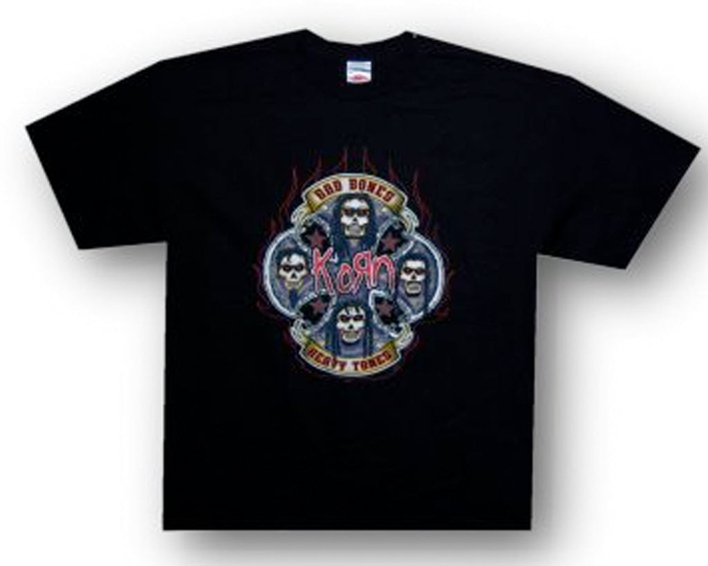 Korn - Skulls 2006 Tour -  Black T-shirt
