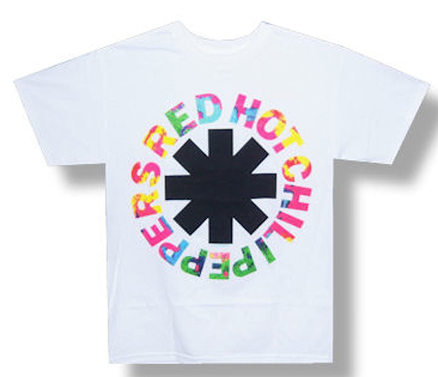 Red Hot Chili Peppers - Overdye Asterisk - White t-shirt
