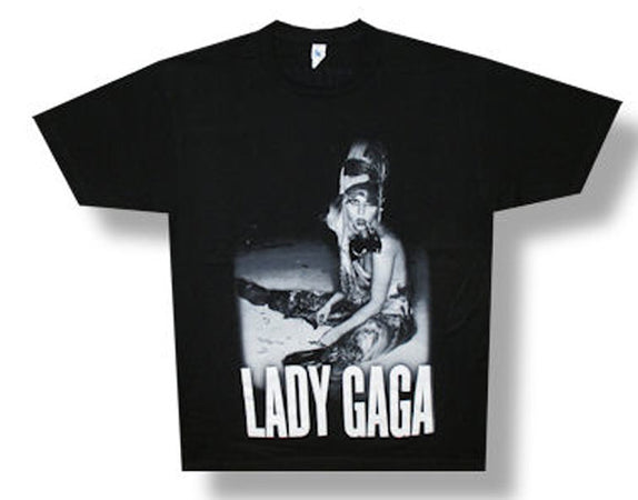 Lady Gaga-On The Ground-Born This Way 2013 Tour T-shirt
