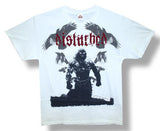 Disturbed Ravens Jumbo Print White t-shirt