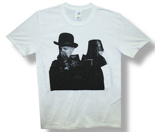 Pet Shop Boys Elecrtic Portrait Tour White Lightweight t-shirt
