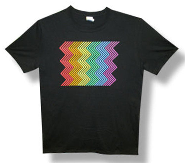 Pet Shop Boys Electric Rainbow 2014 Tour Black Lightweight t-shirt