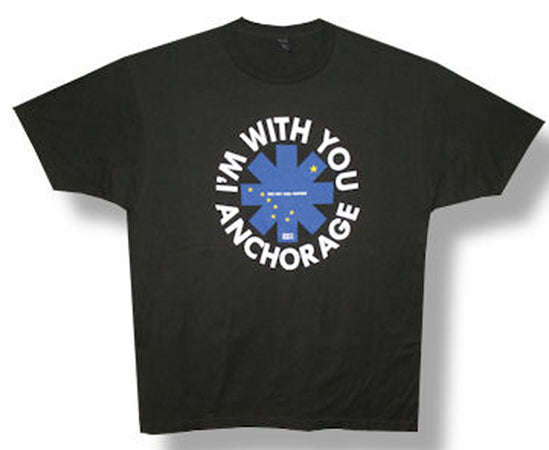 Red Hot Chili Peppers - I'm With You Anchorage - Black t-shirt