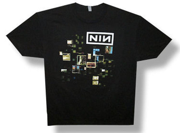 Nine Inch Nails-Cube-2013 Tour-Black Lightweight t-shirt<