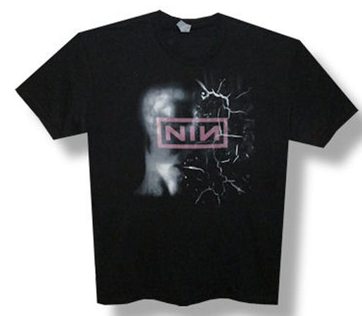 Nine Inch Nails-Shattered-2013 Tour-Black Lightweight t-shirt
