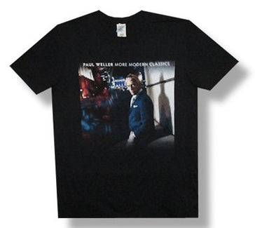 Paul Weller More Modern Classics 2014 Tour Black t-shirt