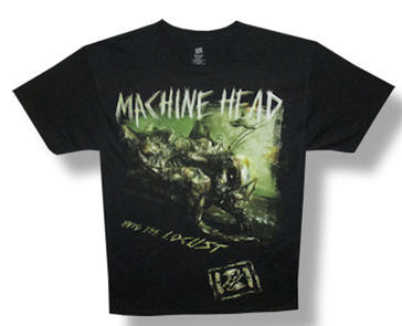 Machine Head - Listening Party Tour - Black t-shirt