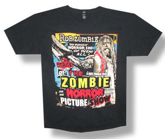 Rob Zombie Zombie Horror Picture Show Black t-shirt