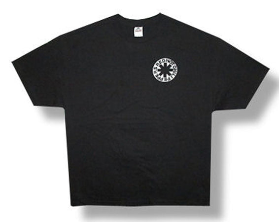 Red Hot Chili Peppers - Pocket Logo - Black t-shirt