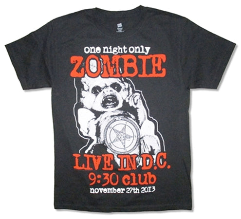 Rob Zombie - 9:30 Club - Black T-shirt