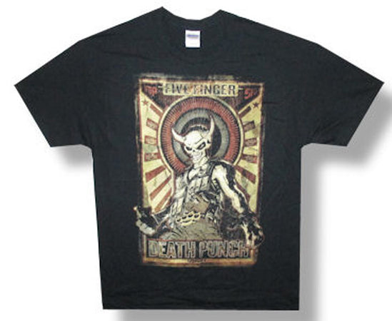 Five Finger Death Punch-Mercenary-2014 Tour-Black Lightweight t-shirt