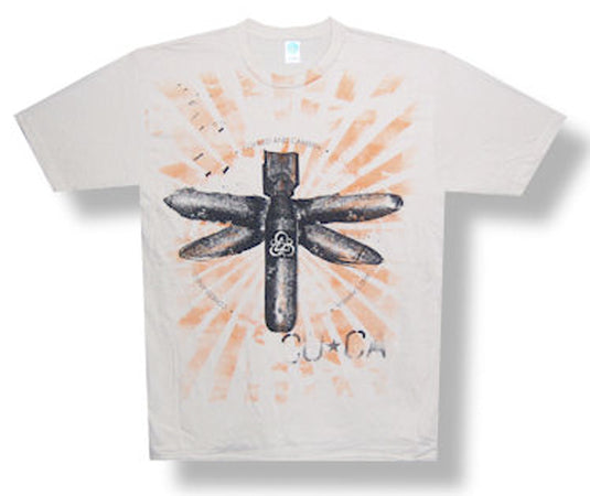 Coheed and Cambria - Bomb Fly - Tan t-shirt