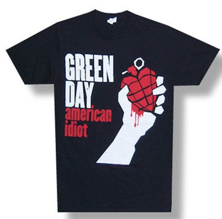 Green Day American Idiot Black t-shirt