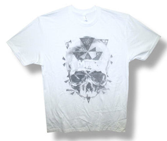 Muse-Washed Out Skull-White t-shirt