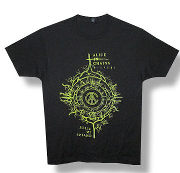 Alice In Chains -Capillary 2014 Tour Black t-shirt