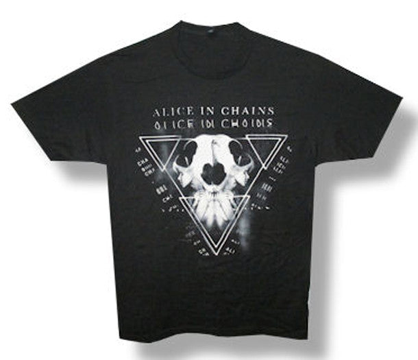 Alice In Chains -Tri Cell Black t-shirt