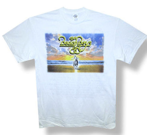 The Beach Boys-50th Anniversary Tour-White t-shirt