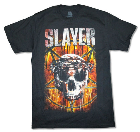 Slayer - Thorny Crown 2015 Tour  - Black T-shirt