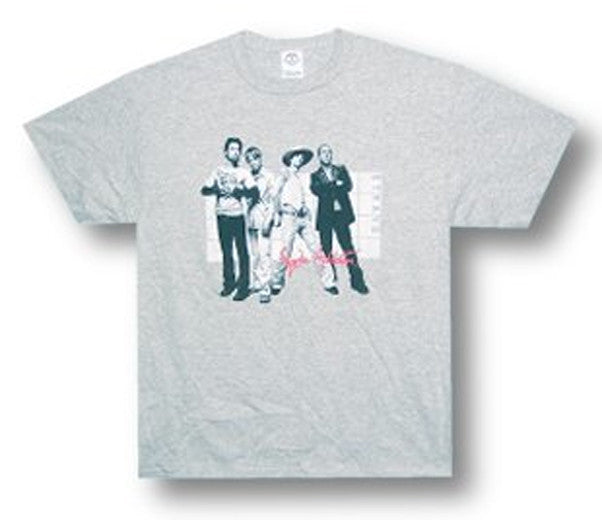Janes Addiction Group-grey t-shirt
