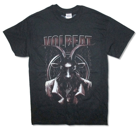 Volbeat Goat North American Tour 2015 Black t-shirt
