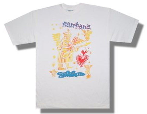 Santana - Icons - World Tour - White t-shirt