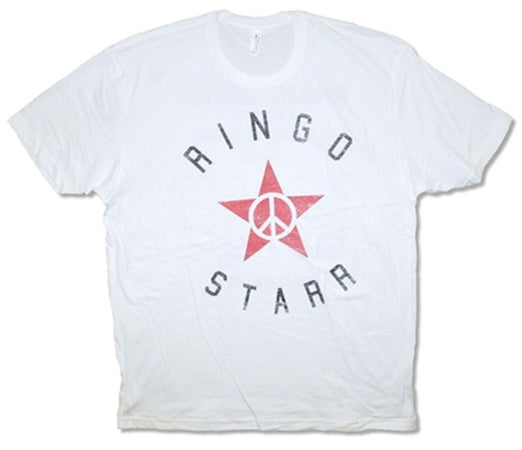 Ringo Starr- Star 2015 Tour-White t-shirt