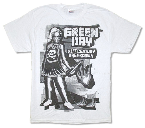 Green Day-Generation Zero-White t-shirt