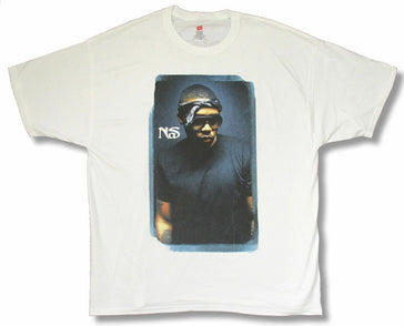 Nas - Life Is Good Tour  - White t-shirt