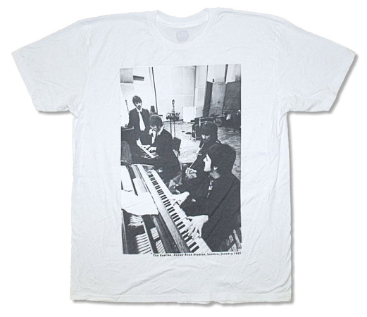 The Beatles-Abbey Road Studios 1967-White t-shirt