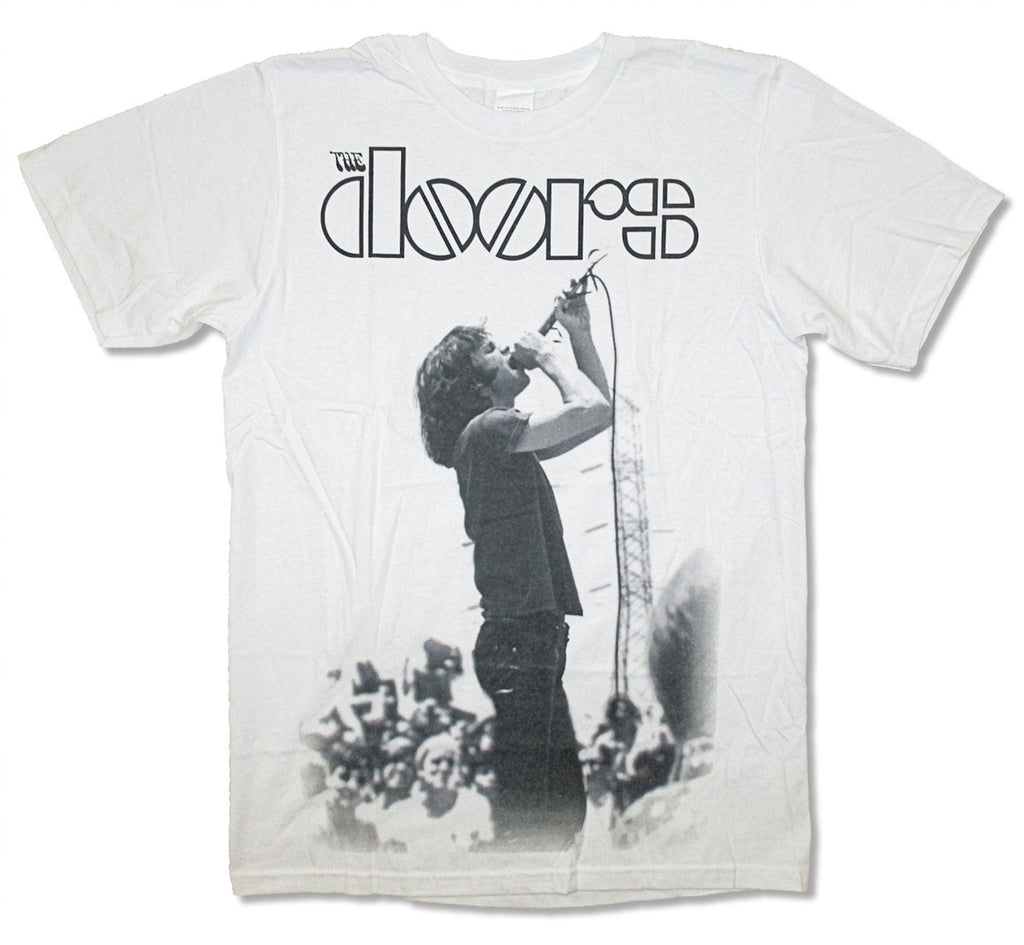 The Doors On Stage-White t-shirt
