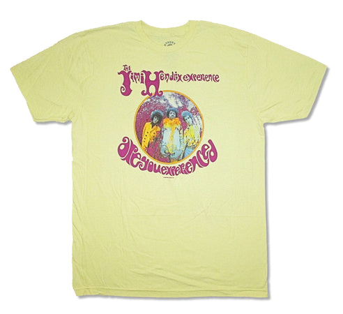Jimi Hendrix - Are You Experienced - Yellow  t-shirt