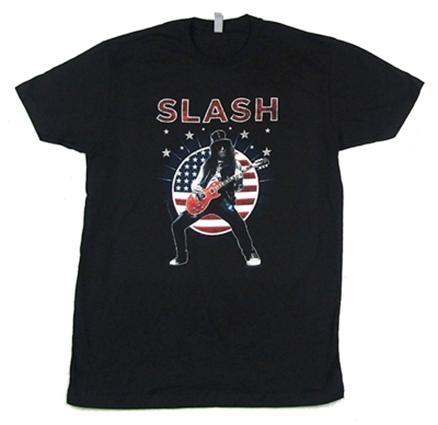 Slash - USA Flag 2015 - Black t-shirt